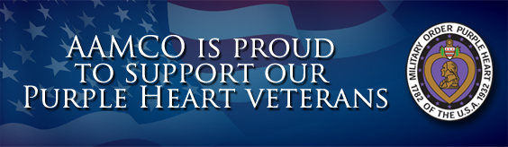 AAMCO is proud to support our Purple Heart Veterans